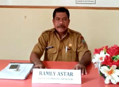 Sambutan Kepala Desa Ramly Astar tentang Website Desa Lautang