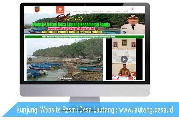 Kunjungi Website Desa Lautang, Kecamatan Banda
