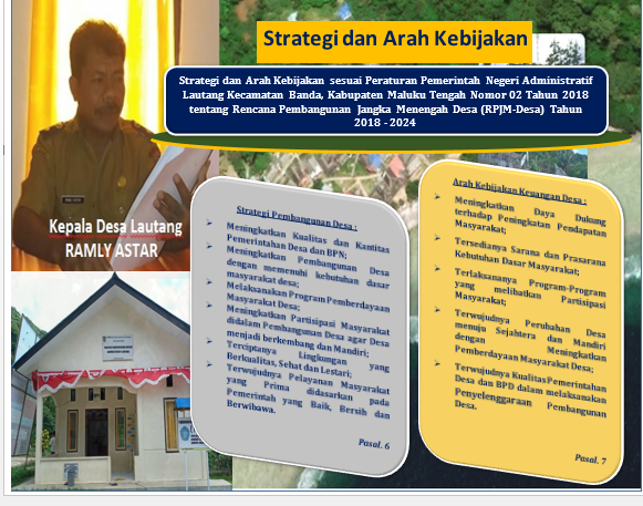 Pentingnya Strategi dan Arah Kebijakan Desa